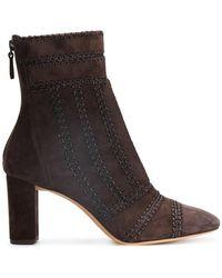 Alexandre Birman - Zipped Ankle Boots - Lyst