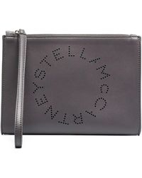 Stella McCartney - Клатч Stella Logo - Lyst