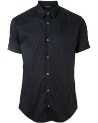 Emporio Armani - Однотонная Рубашка - Lyst
