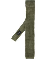 Fashion Clinic Knitted Tie - Green