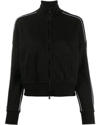 ATM French Terry Track Top - Black