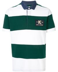 Kent & Curwen - ストライプ ポロシャツ - Lyst