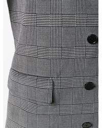 MSGM Double Breasted Fitted Jacket - Серый