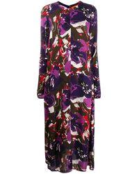 Colville グラフィック ドレス - パープル