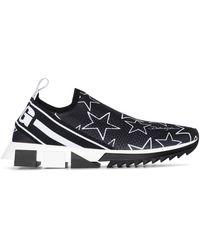 Dolce & Gabbana Sneakers Sorrento Aus Stretch-Mesh Mit Kometendruck - Mehrfarbig