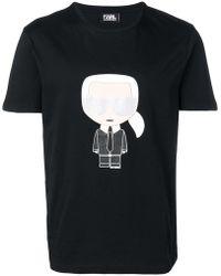 Karl Lagerfeld - 'Karlito' T-Shirt - Lyst