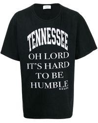 Rhude Tennessee Tシャツ - ブラック