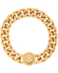 Versace Medusa Logo Bracelet - Metallic