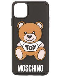 Moschino テディベア Iphone 11 Pro Max ケース - ブラック