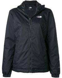 The North Face - Logo Zipped Hoodie - Lyst