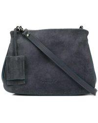 Marsèll Textured Accordion Detail Bag - Blue