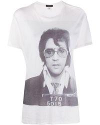 R13 - Boy Elvis T-70 プリント Tシャツ - Lyst