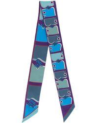 Hermès - プレオウンド プリント スカーフ - Lyst