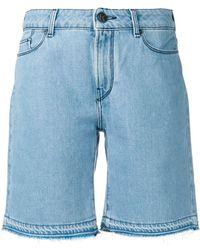 Karl Lagerfeld デニムショートパンツ - ブルー