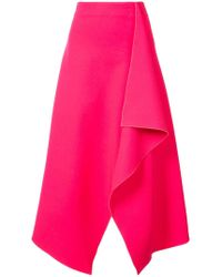 Dion Lee - Long Draped Skirt - Lyst