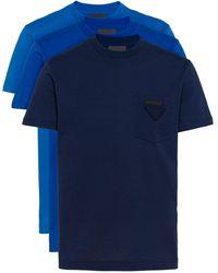 Prada Tシャツセット - ブルー