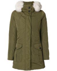 Peuterey - Fur Trim Jacket - Lyst