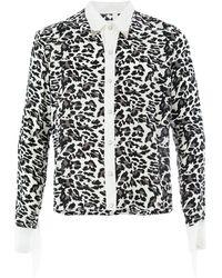 TAKAHIROMIYASHITA TheSoloist. Leopard Print Shirt - Black