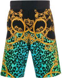 Versace Jeans - バロックプリント ショートパンツ - Lyst