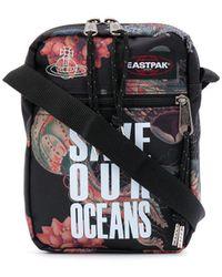 Eastpak Save Our Oceans メッセンジャーバッグ - ブラック