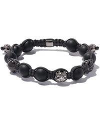 Shamballa Jewels - 18kブラックゴールド ダイヤモンド ビーズ ブレスレット - Lyst