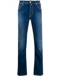 Jacob Cohen Straight Jeans - Blauw