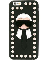 Fendi - 'karlito' Iphone 6 Case - Lyst