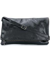 Numero 10 Durban Embossed Style Satchel Bag - Black