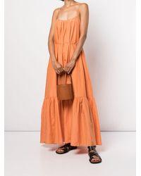 Matteau フレア スリップドレス - オレンジ