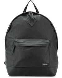 Golden Goose Deluxe Brand Printed Logo Backpack - Black