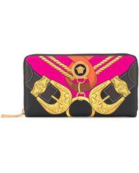 Versace メデューサ 財布 - ブラック