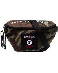 Eastpak Mini sac à bandoulière matelassé x AAPE - Vert