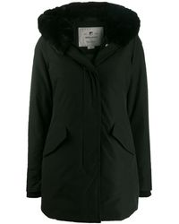 Woolrich Parka acolchada - Negro