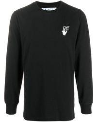 Off-White c/o Virgil Abloh Arrows スウェットシャツ - ブラック