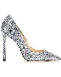 Jimmy Choo - Glitter Romy 110 Pumps - Lyst