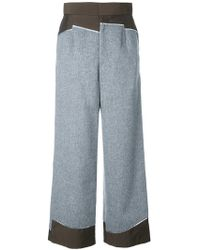 Kolor   High Waisted Trousers   Lyst