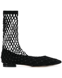 Casadei - Netted Pumps - Lyst