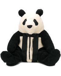 Raeburn Panda Fleece Backpack - Black