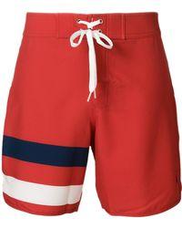 Perfect Moment Super Mojo Drawstring Swim Shorts - Red