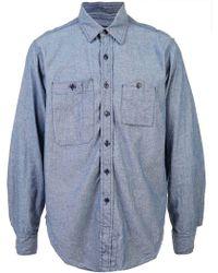 Engineered Garments - Double Pocket Shirt - Lyst