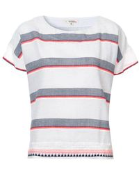 lemlem ストライプ Tシャツ - グレー