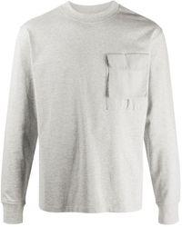 Soulland ポケット スウェットシャツ - グレー
