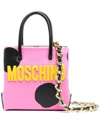 Moschino Мини-сумка В Горох - Розовый