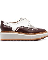 Robert Clergerie Laceless Colour-block Loafers - Brown