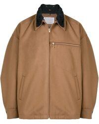 Kolor オーバーサイズ ジャケット - ブラウン