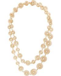 Rosantica - Spiral Chain Necklace - Lyst