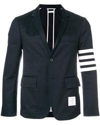 Thom Browne - Classic Unconstructed 4-bar Stripe Sport Coat - Lyst