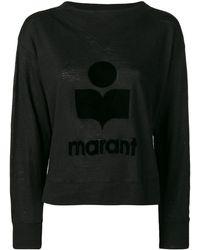 Étoile Isabel Marant - トーナルロゴ セーター - Lyst
