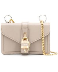 Chloé - グレー Aby チェーン バッグ - Lyst