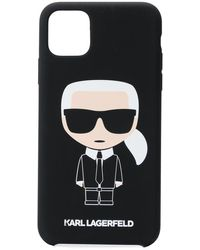 Karl Lagerfeld - Karl Caricature Printed Iphone11 Pro Phone Case - Lyst